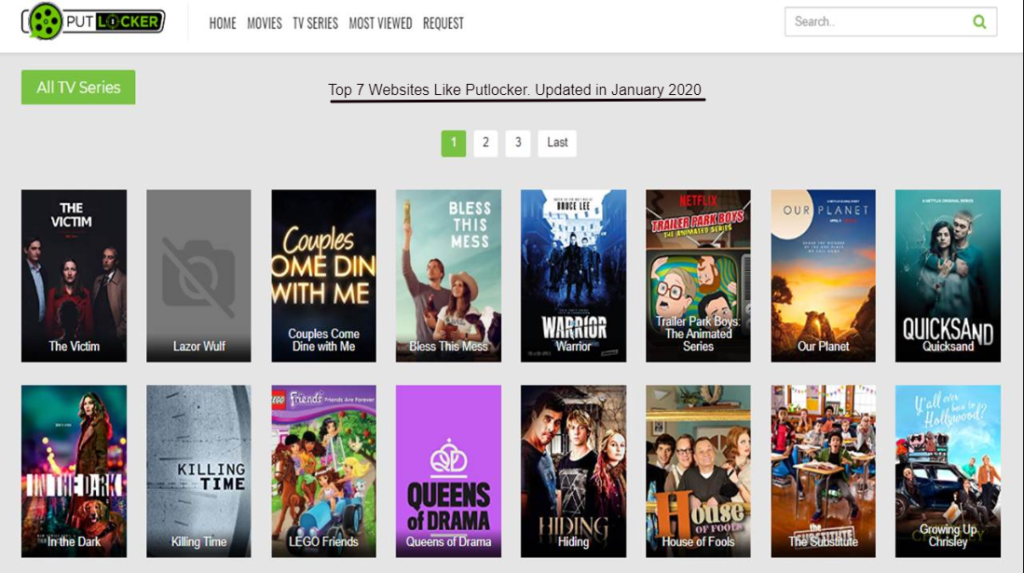 Putlocker – Alternative Sites To Stream Movies Free